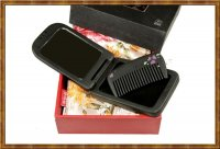 Gift Set-Comb & Mirror Lacquer Fair Flower