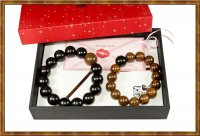 Gift Set-Couple Beaded Bracelet Heart to Heart