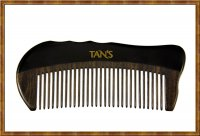 Black Horn Scraping & Massage Comb 1