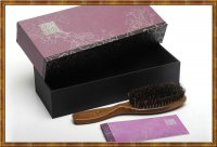 Gift Set-Boar Bristle Hair Brush 2-1