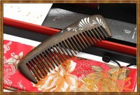 Gift Set-Comb Rosewood Lacquer Elegance