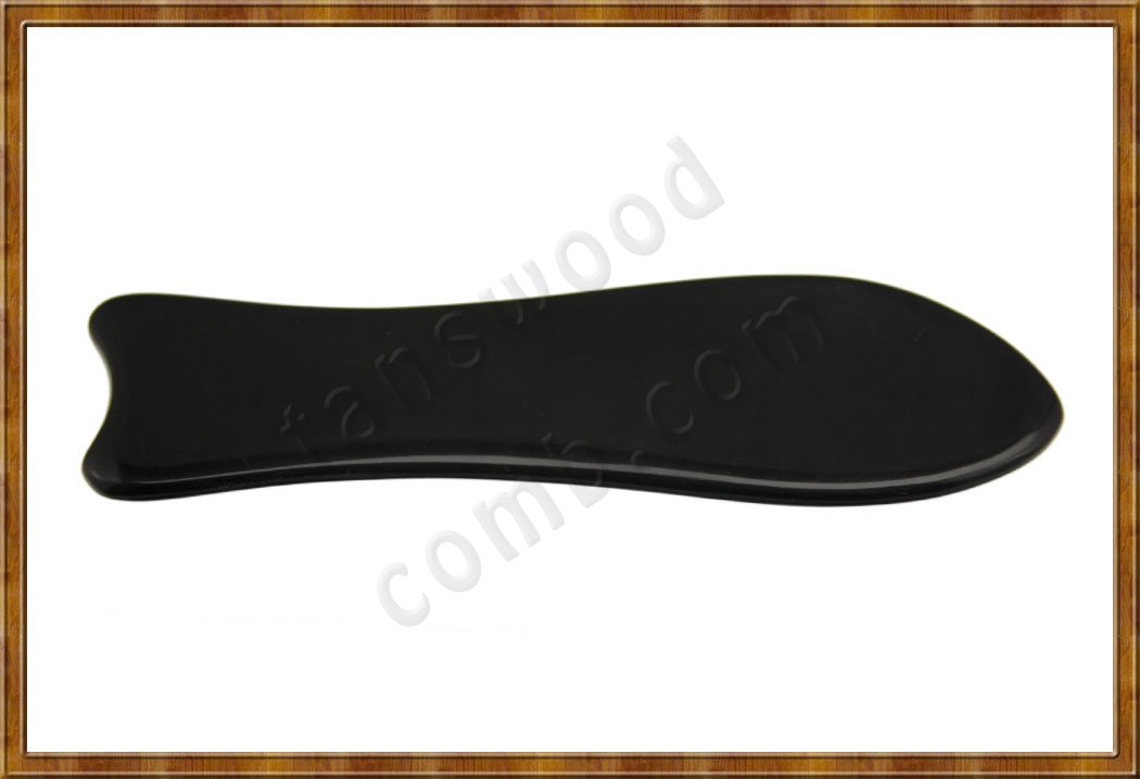 Black Horn Scraping plate 1-4 - Click Image to Close