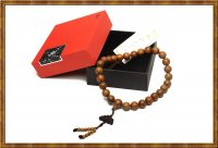 Gift Set-Jade Sandalwood Auto Mellow Beaded Hanging Decoration