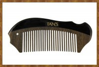 Black Horn Scraping & Massage Comb 3