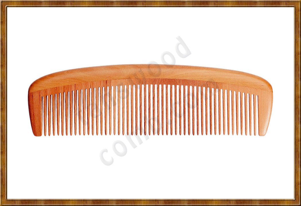 Comb-Peach Wood 5-2 - Click Image to Close