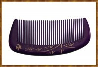 Comb-Boxwood Natural Dyed Purple 7-9