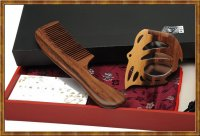 Gift Set-Comb & Mirror Hollow Out The Butterfly