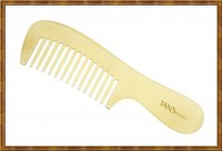 Comb-White Horn Wide Teeth 3-7
