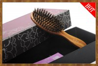 Gift Set-Boar Bristle Hair Brush 4-1