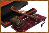 Gift Set-Comb & Mirror Hollow Out Phoenix